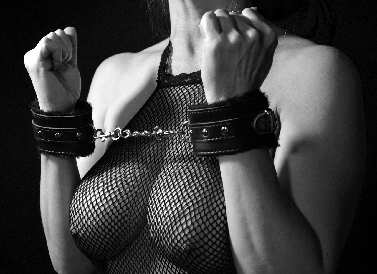 BDSM tied hands